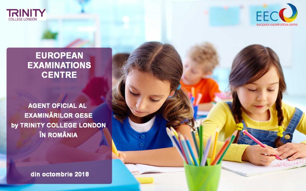 European Examinations Centre: Agent oficial al Examinărilor GESE by Trinity College London în România
