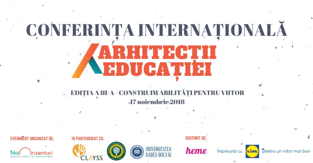 Profesori și specialiști în educație construiesc abilități pentru viitor la Conferința Arhitecții Educației