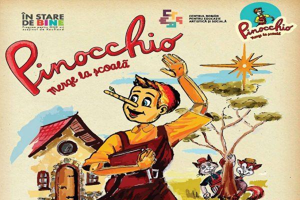 Pinocchio, pus să scadă abandonul școlar