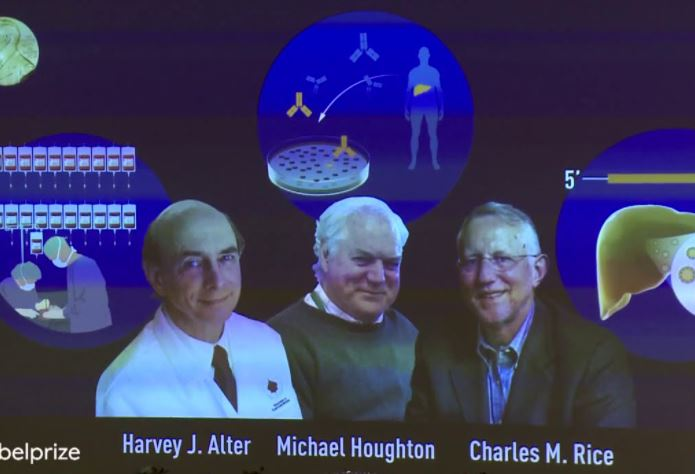 Charles Rice, Harvey Alter, Michael Houghton, Nobel 2020 medicină